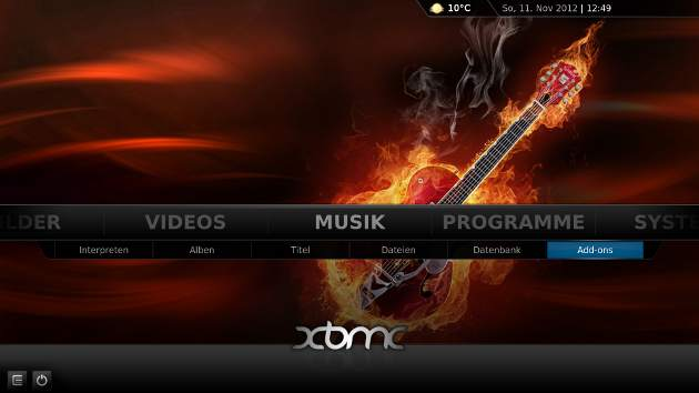 Screenshot XBMC